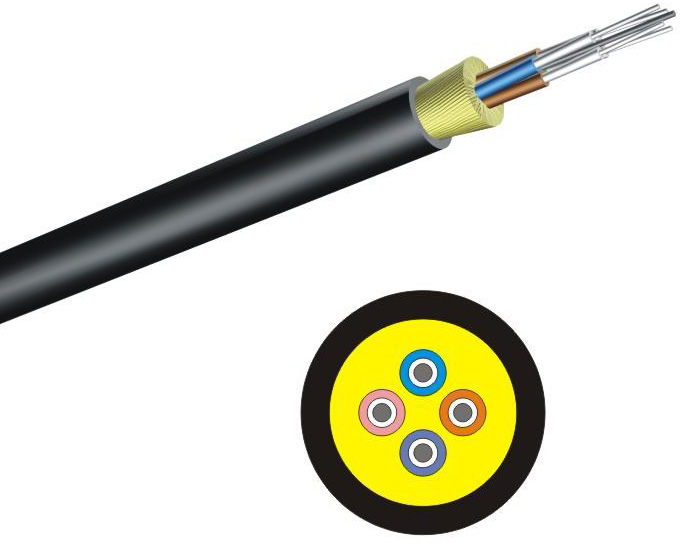 4-Channel Tactical Fiber Optic Cable