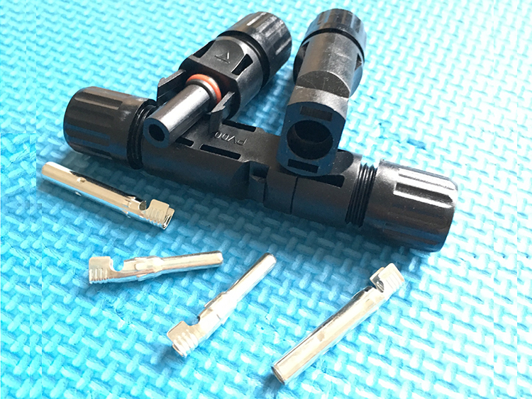 MC4 PV Cable Connectors/TUV Certified Solar cable connectors